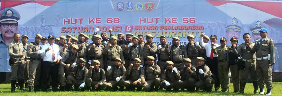 Satuan Polisi Pamong Praja<BR>HUT Tingkat Provinsi Jawa Timur